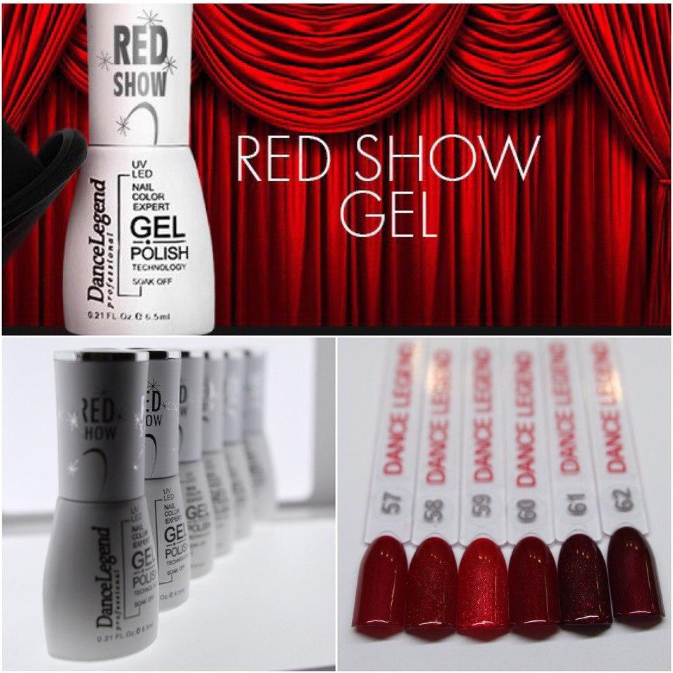 Red Show Gel